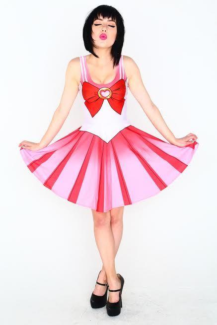 Sailor Chibi Moon Skater Dress | $79 | Living Dead Clothing