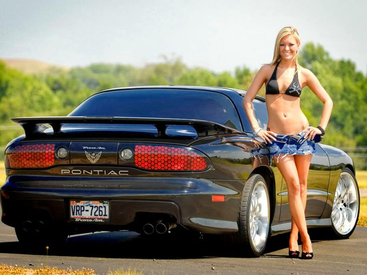 Pontiac Trans Am & Sexy Women 73