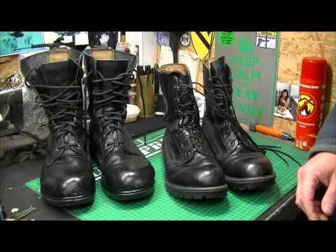 British Army Boots 80's v Later Versions - YouTube