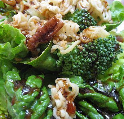 Broccoli Ramen Salad - add mandarin oranges and this is divine!!!