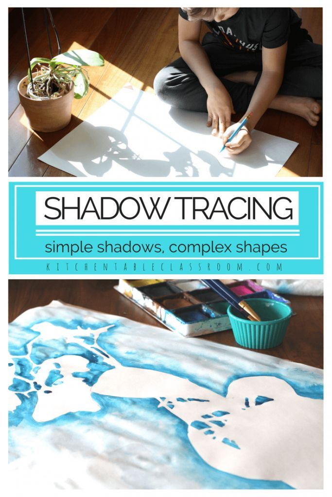 Shadow Drawing – An Experience in Positive and Negative Shapes