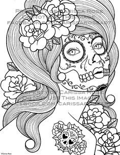 Sexy Pin Up Girl Coloring Pages