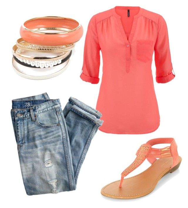 summer/spring by tayken3 on Polyvore featuring polyvore moda style maurices J.Crew fashion clothing