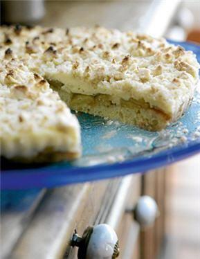 Kuchen con streusel de buena mesa (de migas)