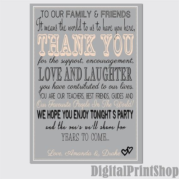 ETSY Wedding Sign