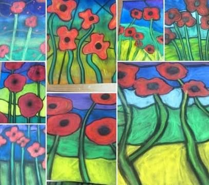 Image result for WW1 art lessons