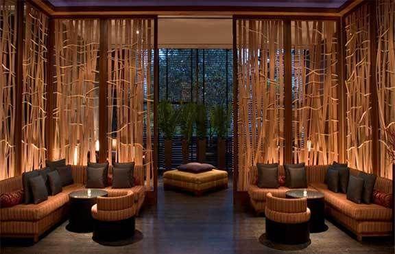 Design et décoration zen et loungeBar Design, Exhibitions Spaces, Interiors Design, Los Angeles, Modern Lounges, Los Angels, Bar Lounge, Outdoor Area, Room Dividers