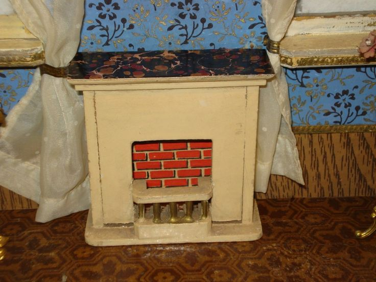 alter Kamin oder Ofen für alte antike Puppenstube   eBay