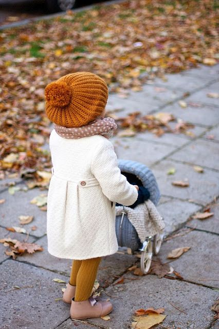 Little kid ready for fall !! vivioli-babiesfashionlife.blogspot.com #fashion