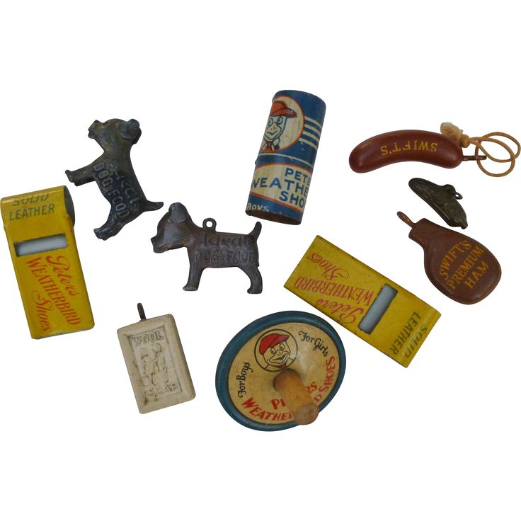 Advertising Premiums Charms, Whistles, Tops ..
