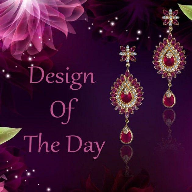 Blinking Pink Earring | ATJEWEL.Com