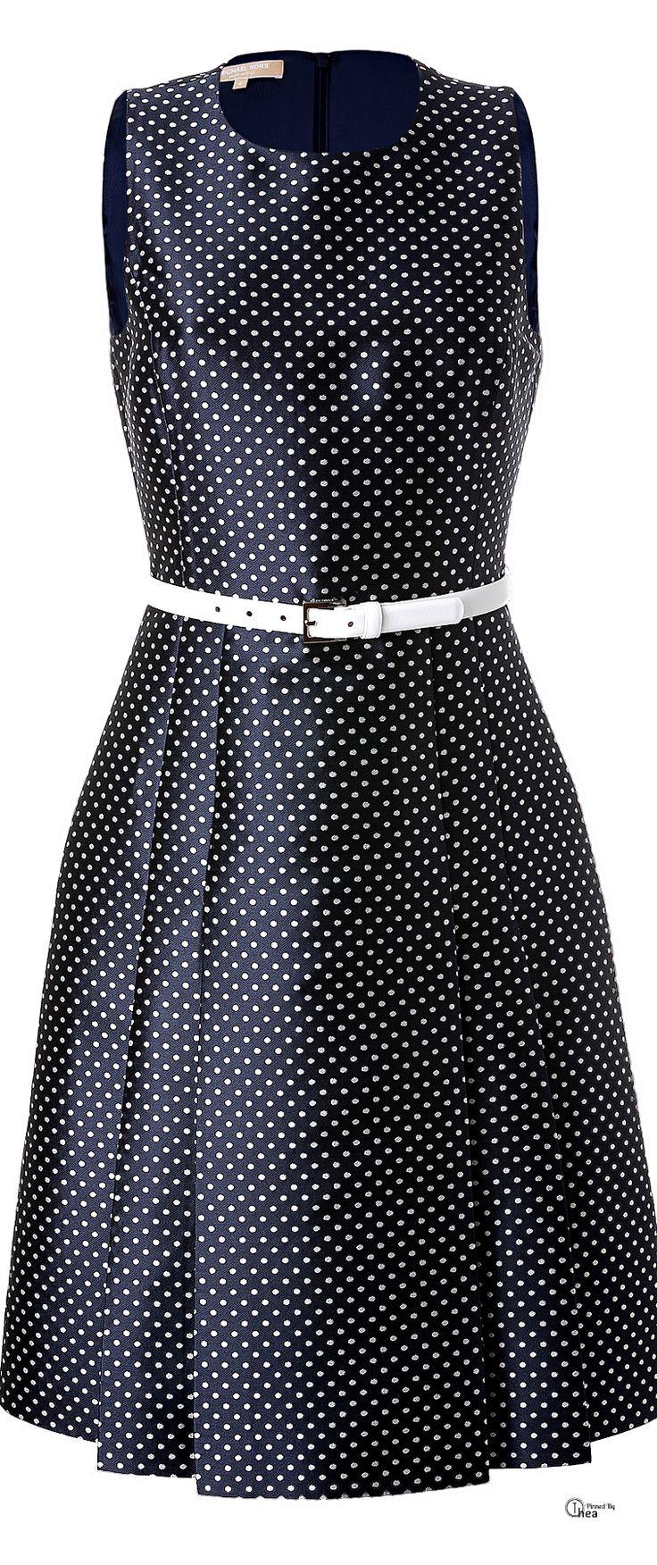 Michael Kors ● Polka Dot Cocktail Dress