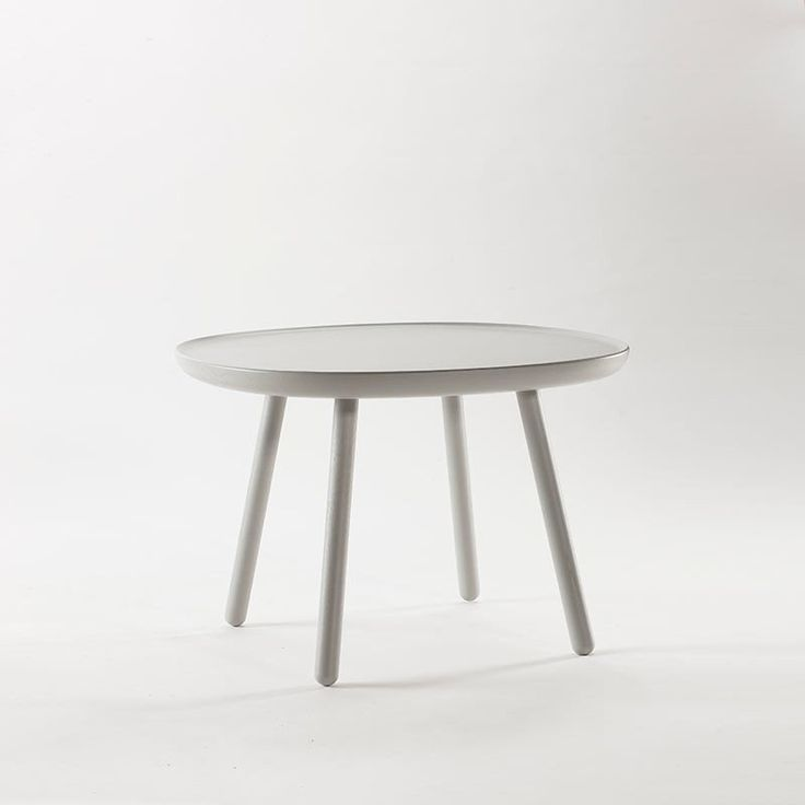 Naive Wooden Side Table, Grey (3 Sizes)