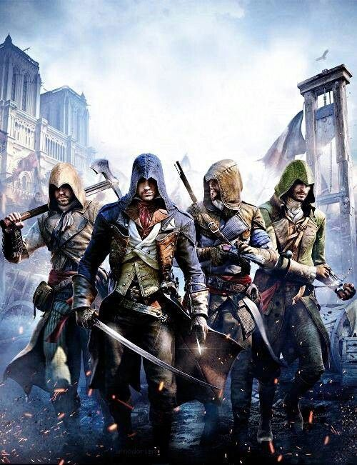 Assassins Creed: Unity.  I don't have a next-gen console, but you can always enjoy some YouTube gameplay lol. Graphics look great..hopefully the storylines in this franchise start picking it up