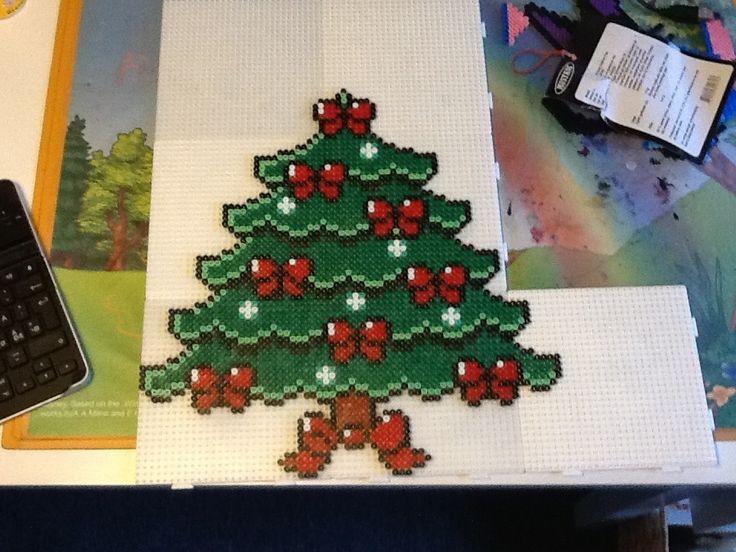 Hama christmastree design 3