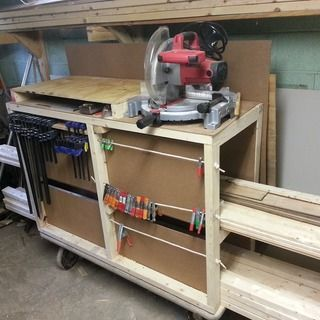Rolling lumber cart plans woodworking projects plans for Rolling lumber cart plans