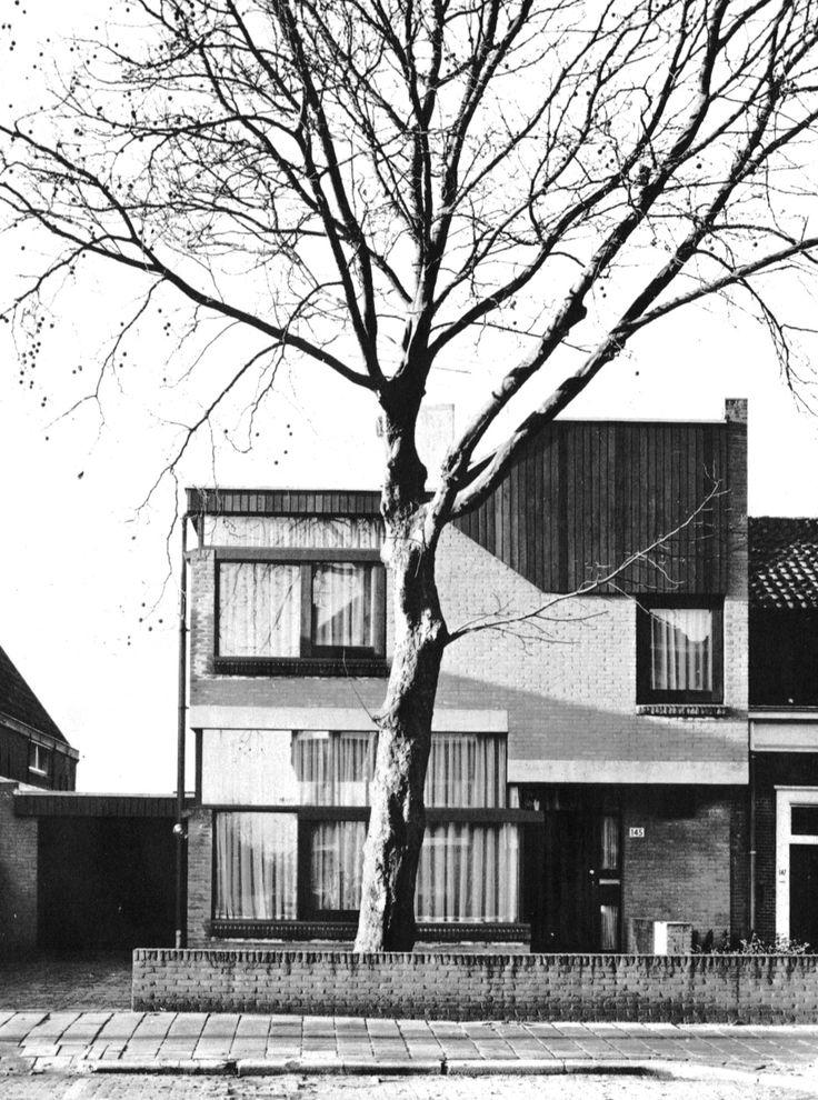 Van Ierland House, Rotterdam, Netherlands, 1965-67 (Van den Broek/Bakema)