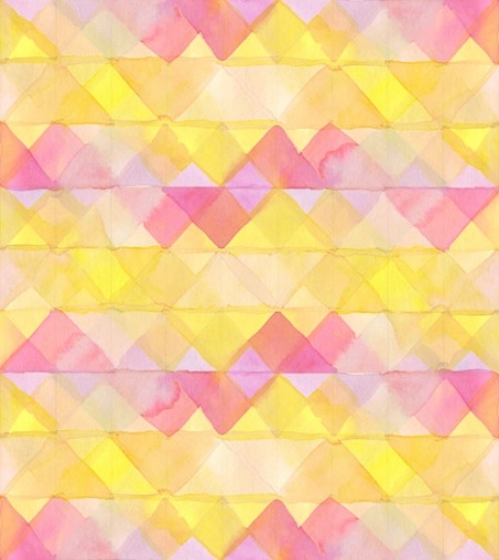 Ana Montiel print @ Little Paper Planes: Patterns Art, Colors Patterns, Pink Yellow, Pink Patterns, Summer Art, Ana Montiel, Textiles Design, Pink Lemonade, Paper Planes