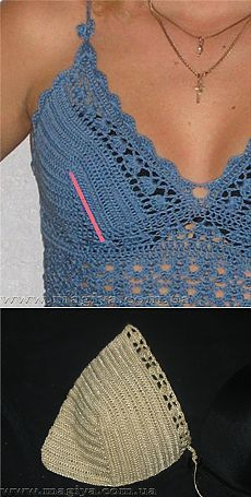 master - class on knitting bodice