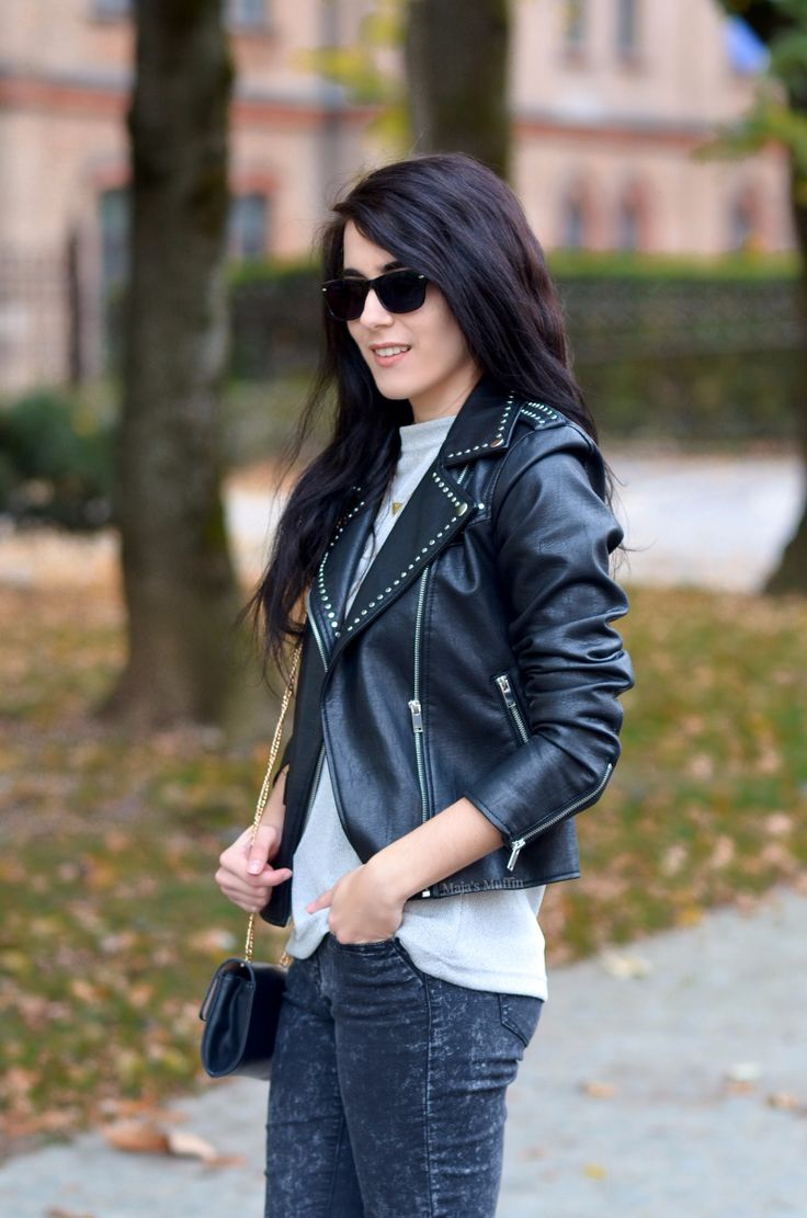 Fashion Basic Biker Jacket: 4 Style Types