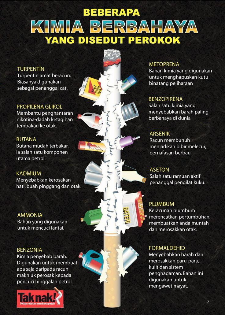Suka merokok kan? takpe,sebab bahan dalam rokok tu bukannya bahaya sangat.semuanya dari bahan yang bersih dan menyihatkan. Dont worry be happy!