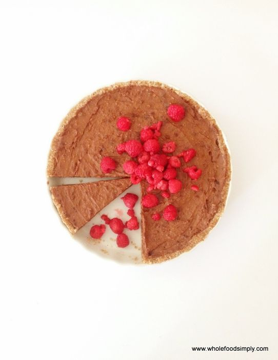 Chocolate and Raspberry Tart - Wholefood Simply