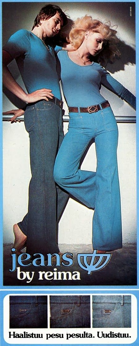 70-luvulta, päivää !: Reima-farkut - 1975