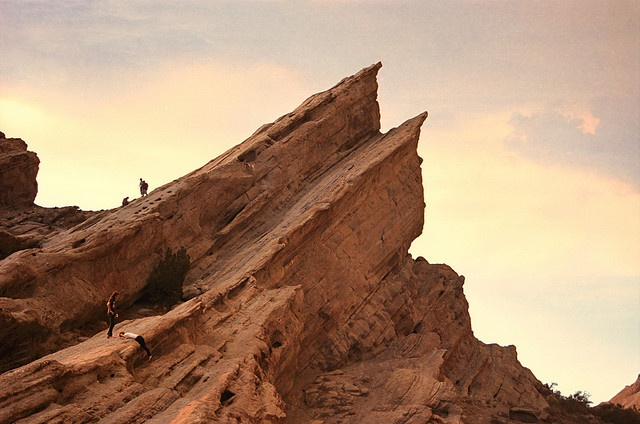 Climb Vasquez Rocks that have served as a backdrop for countless films, TV Shows and commercials.