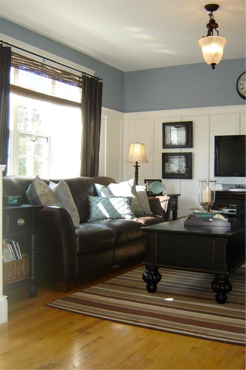 Wainscoting- I Like The Tallness And The Color Above- I