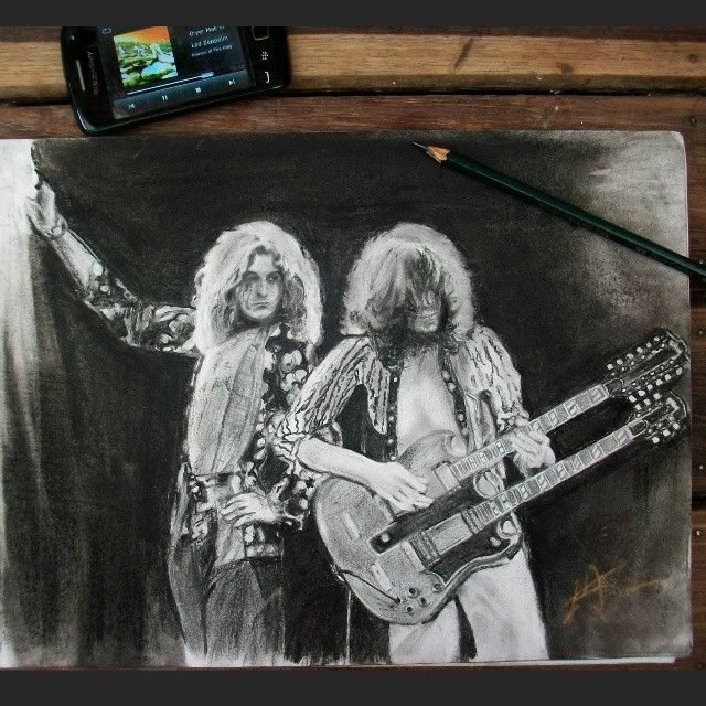 And as we wind on dow the road... A #Artwork for the #best #rock #band #ever…