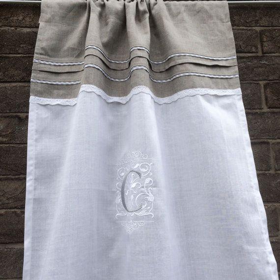 17 mejores ideas sobre cortinas de lino blanco en pinterest ...
