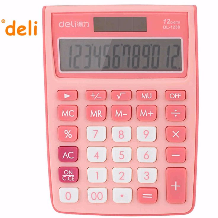Best Deli Colorful Calculator Images On   Calculator