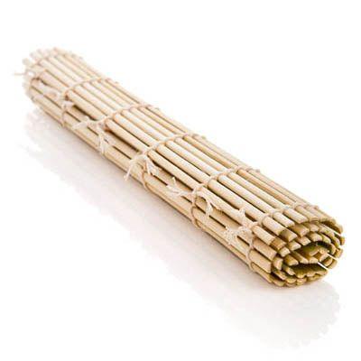 Bambumatta för tillverkning av sushirullar, finns i 24cm samt 27cm
