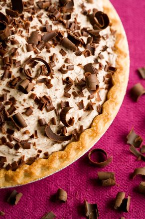 Paula Deen Frozen Chocolate Mousse Pie