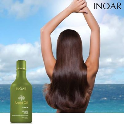Rich in vitamins and anti-oxidants, Inoar Argan Oil has a high lubricating capacity, protects hair during chemical processes and promotes hair fiber renovation, restoring shine and flexibility that the hair lost caused by daily harmful agents.