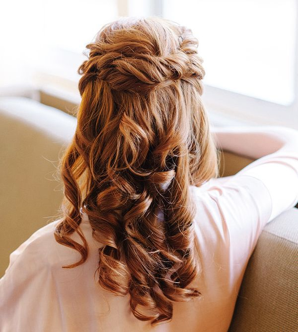 23 Romantic Wedding Hairstyles For Long Hair: 17 Best Ideas About Romantic Weddings On Pinterest