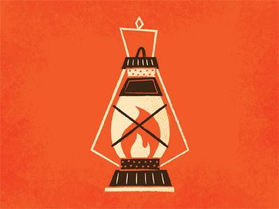 Camping Lantern - Adam Grason #design #vector #illustration
