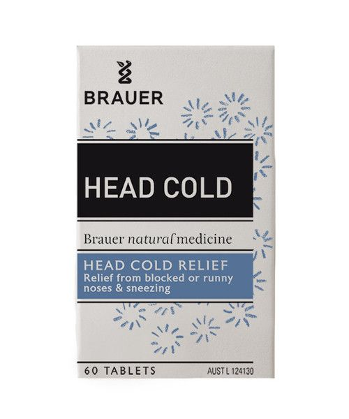 Head Cold Tablets 60- Head Cold Tablets include ingredients such as Onion, Eyebright and Pasque Flower that are traditionally used in homeopathic medicine to help relieve the symptoms of a head cold such as blocked or runny nose and sneezing.