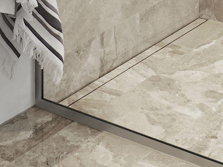 Unidrain GlassLine showerwall #unidrain #glassline #highline #design #nordic