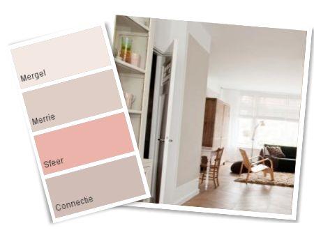 Bij het combineren van kleuren die in de kleurencirkel dicht bij elkaar liggen krijgen je een harmonische sfeer.