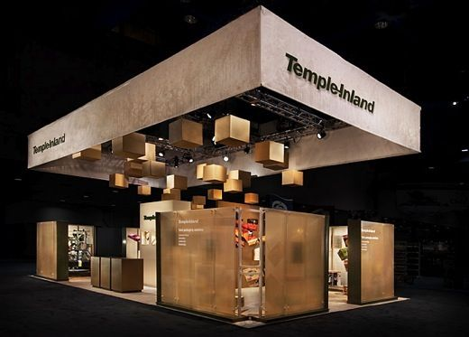 Exhibition Stand Ceiling : Theatrical lighting great use of ceiling space love