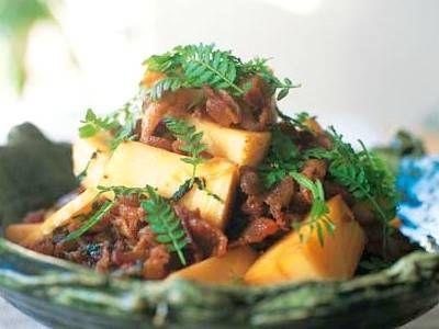 たけのこと豚肉の木の芽炒め レシピ 有元 葉子さん|【みんなのきょうの料理】おいしいレシピや献立を探そう