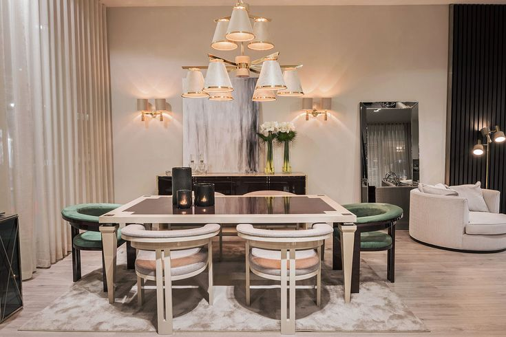 The whole look of the dining room set was worth waiting for, right? It looks so beautiful and we are so proud of it. The newest collection creates the perfect ambiance and with the right details makes the atmosphere even better.  For more, visit our website: ☛ stylishclub.pt