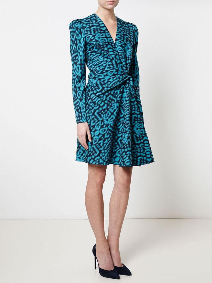 Lanvin платье с леопардовым принтом