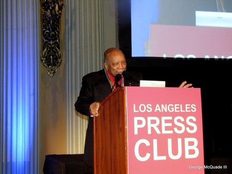 LA Press Club honors Quincy Jones and Nancy O'Dell in Arts and  Entertainment Journalism-slide0