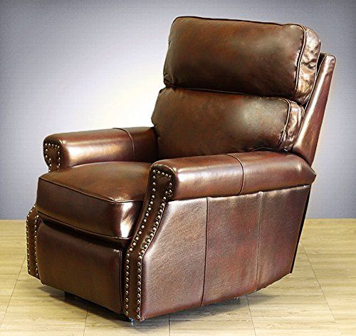 Barcalounger Power Electric Recline Lochmere II Recliner Lounger Chair Broughton Saddle Leather ** Details can be found by clicking on the image.