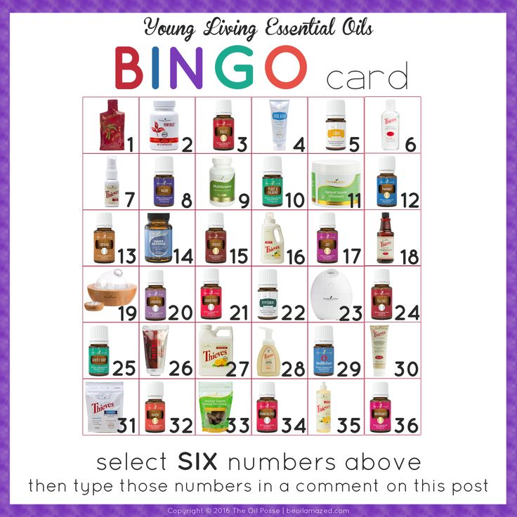 "Add some excitement to your next online Facebook class with ""Oily BINGO!"" We…"
