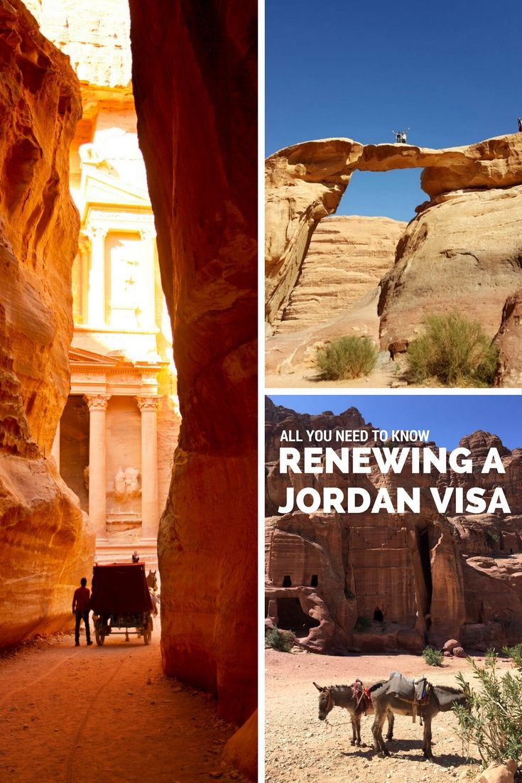 Journalling Jordan: How To Renew A Visitor Visa In Jordan