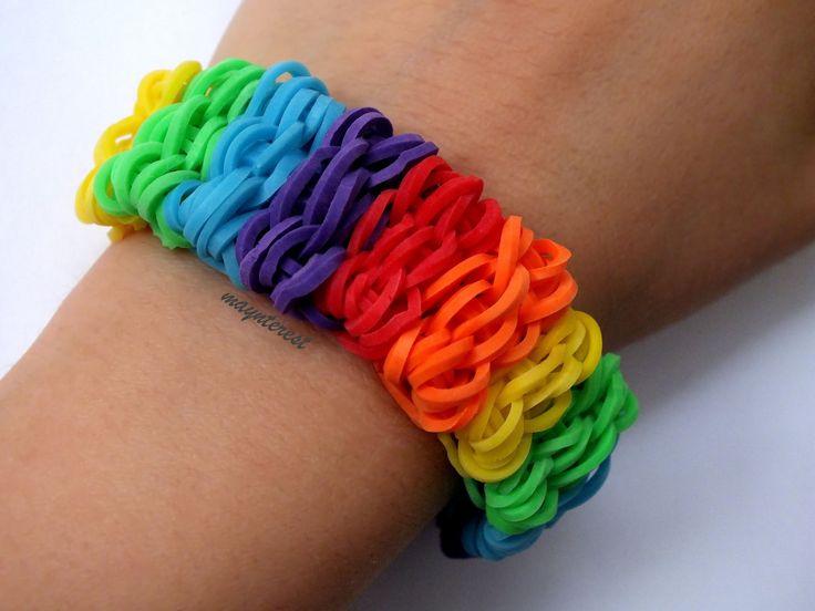 Pulsera de gomitas shuffle / Shuffle bracelet