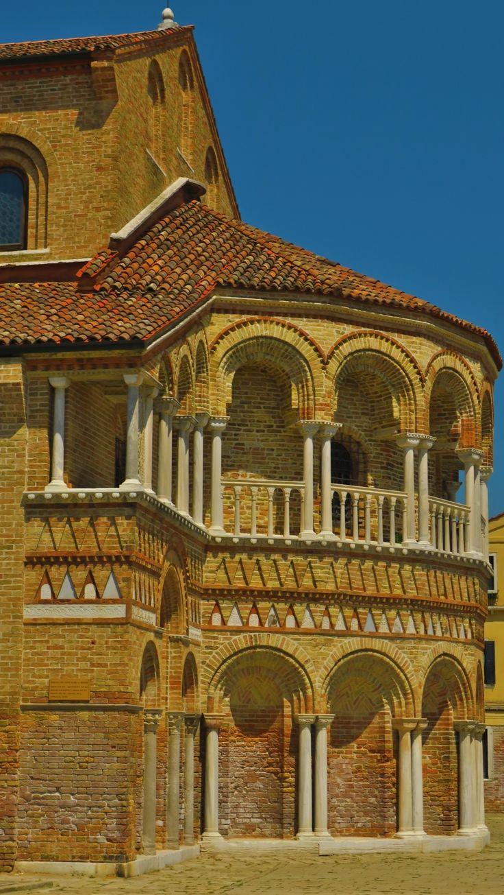 Isola di Murano abside cattedrale di Santa Maria e San Donato